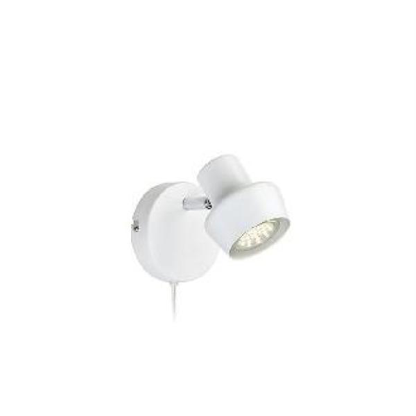 MARKSLOJD 106083 URN WHITE WALL LAMP - DELIGHT