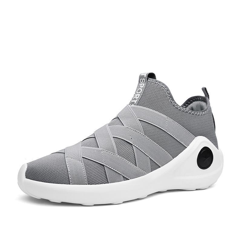 Pencerahan sepatu basket pria sepatu olahraga Sol Tebal Sepatu olah raga  2018 musim panas item baru 87cc0df84d