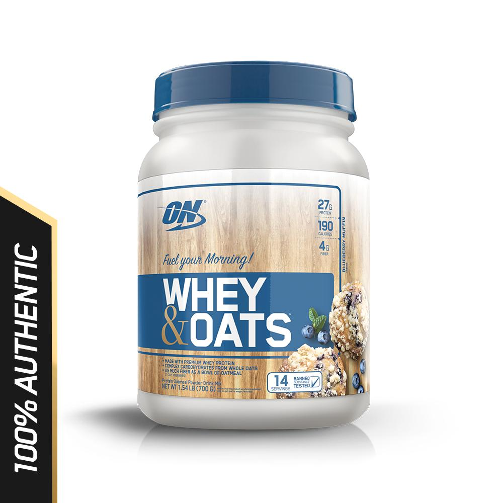 Buy Optimum Nutrition Whey Oats 1 5 Lbs Blueberry Muffin Optimum Nutrition