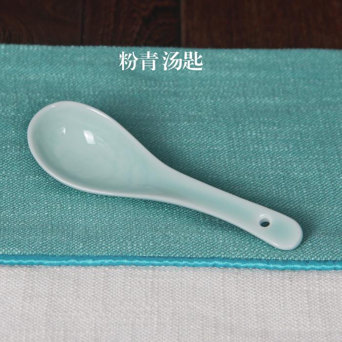 Longquanqingci Peralatan makan mangkok Set buatan tangan 5-inch Titoni ukuran besar/L mangkok