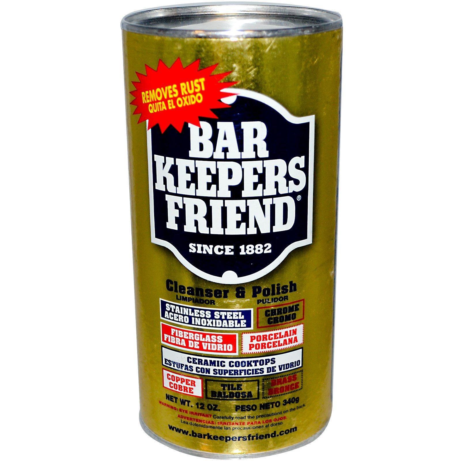 Recent Bar Keepers Friend Cleanser Polish 12 Oz 340 G