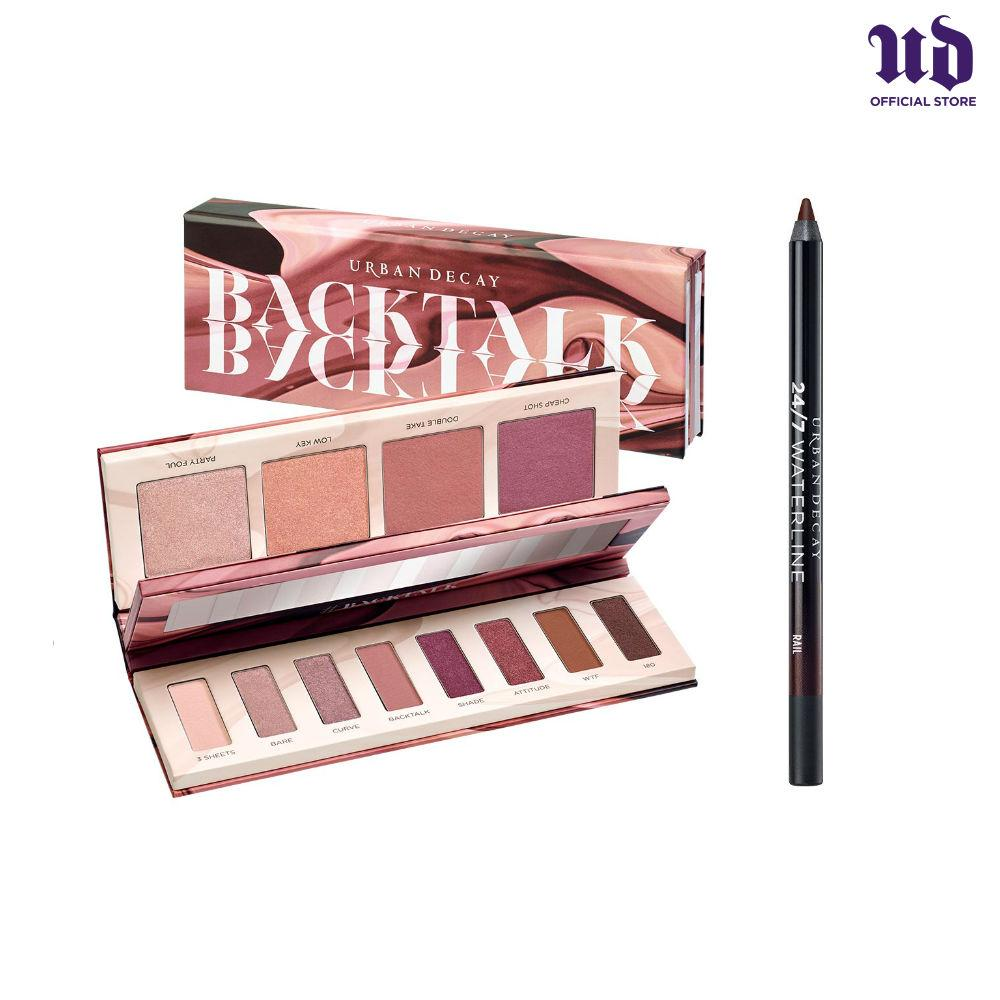 Coupon Urban Decay Backtalk Palette Free Waterline Pencil While Stocks Last