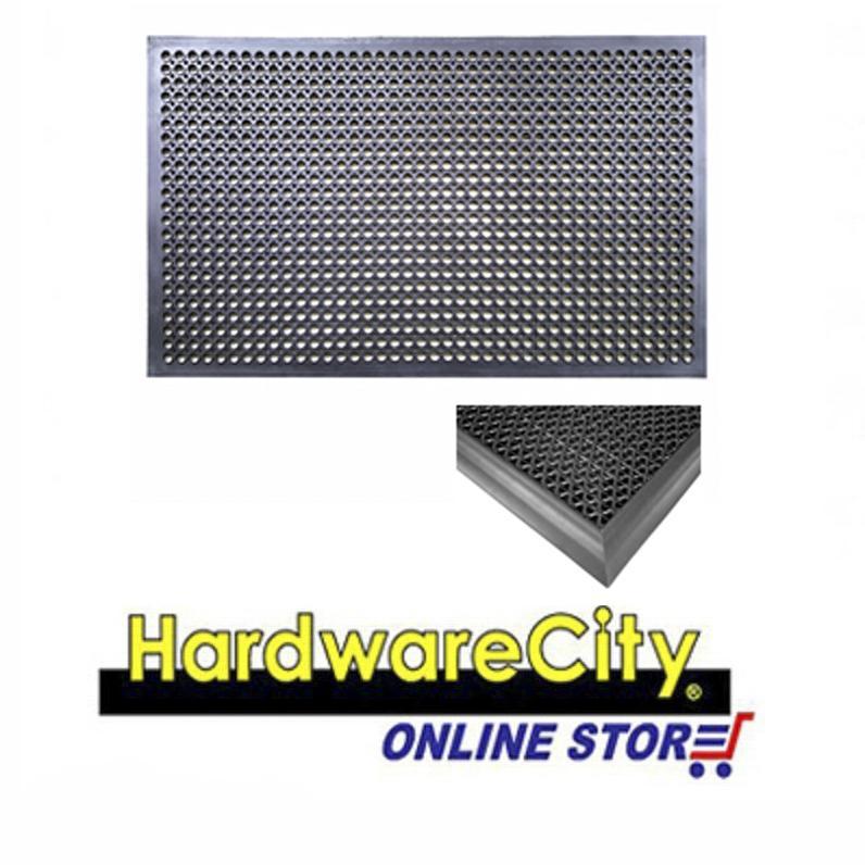 Buy 3M Safety Walk Anti Slip Door Floor Mat With Edging 450Mm X 600Mm Edging Safety Walk Singapore