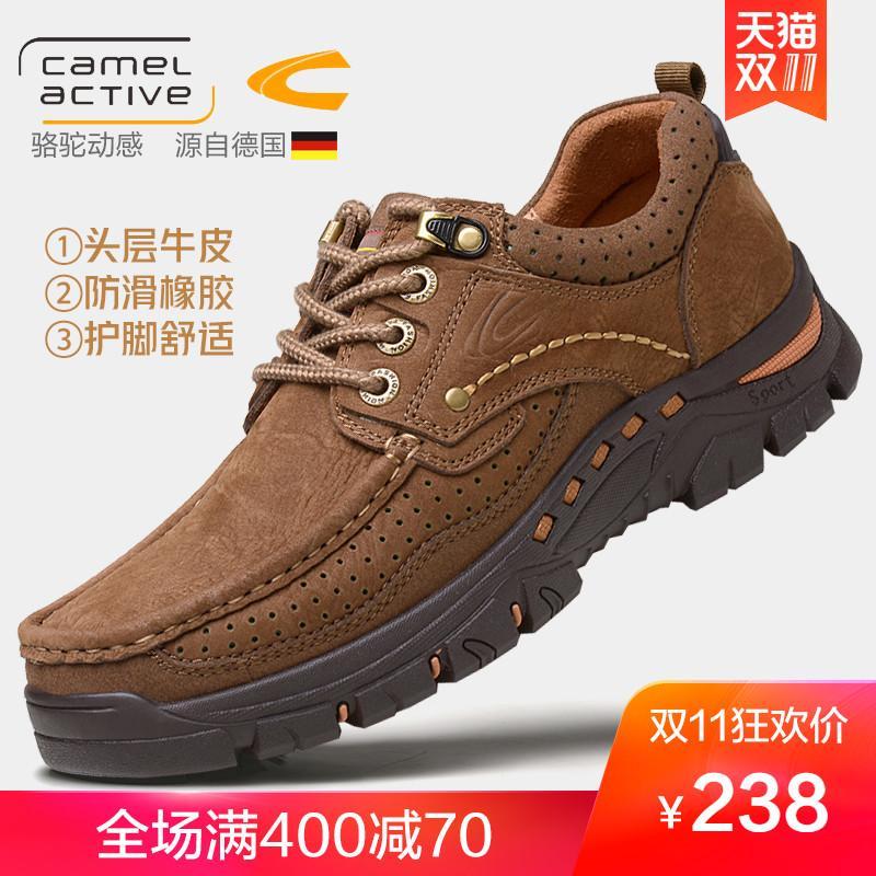 Detail Gambar Jerman Camel Active sepatu pria sepatu kasual luar ruangan Kulit  asli Sepatu Sepatu pria 692c879939