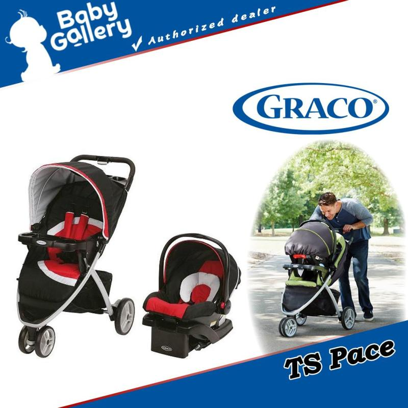 Graco Travel System Pace Stroller (Spice) Singapore