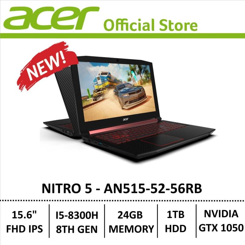 Acer Nitro 5 AN515-52-56RB Gaming Laptop - 8th Generation Core i5+ Processor with GTX 1050 Graphics (Optane Memory)