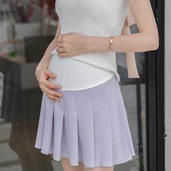 A Pregnant Woman Wearing Black Maternity Dress