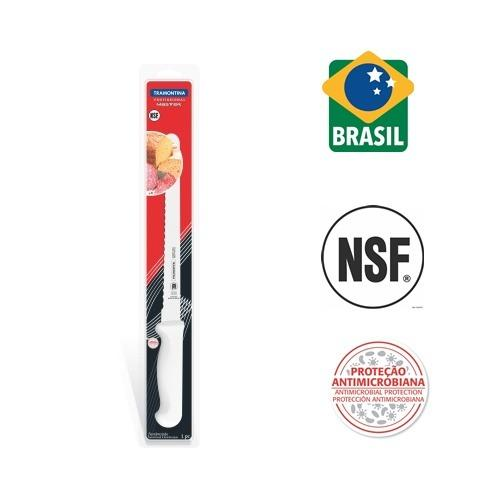 Discount Tramontina Singapore 12 Bread Knife Blister Packed Professional Master Tramontina
