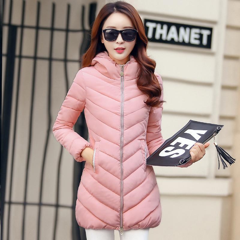 Pakaian musim dingin model baru 2018 ukuran besar hoodie membentuk tubuh  baju katun pakaian katun wanita 2ec23f60dc