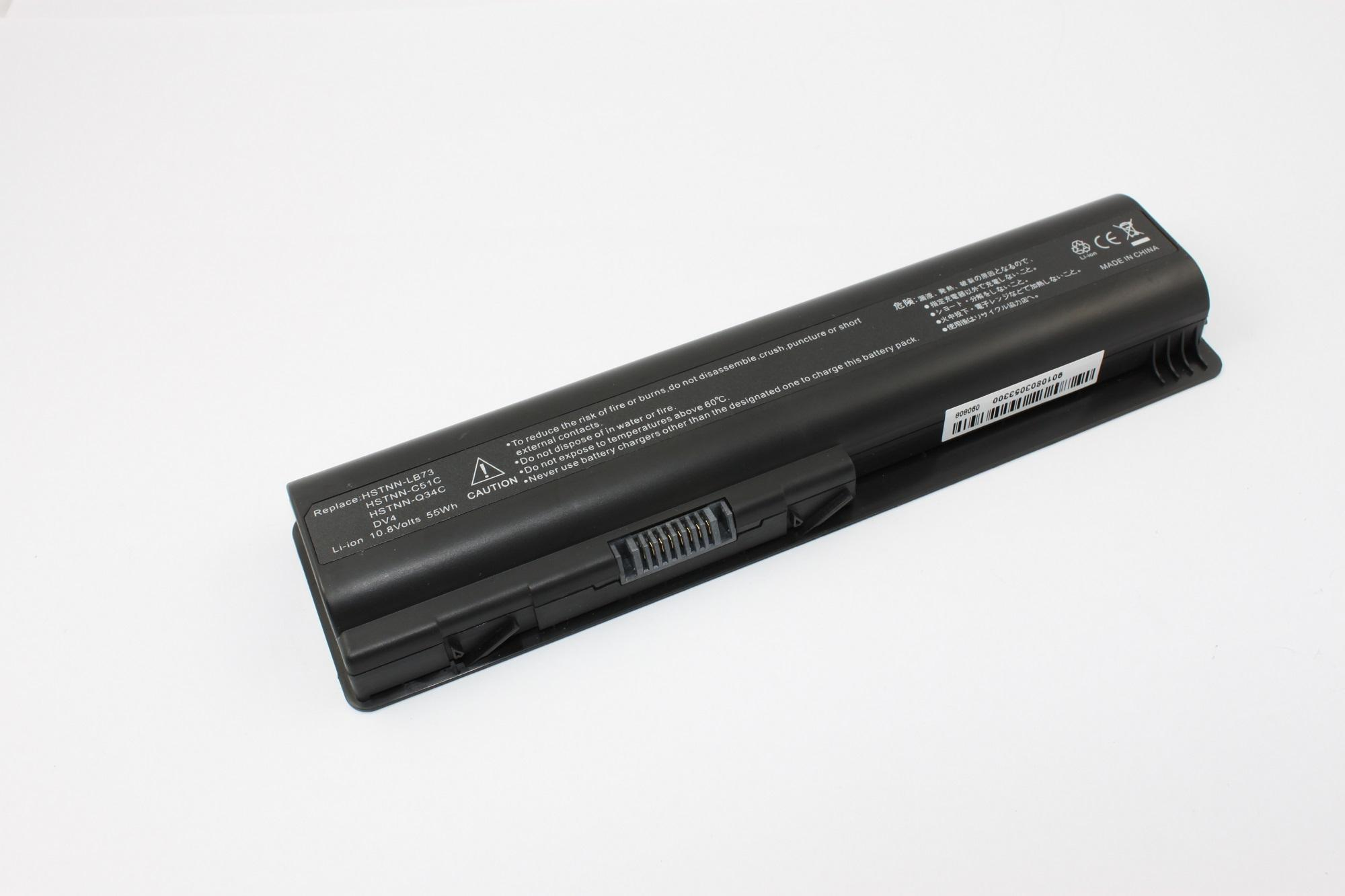 Replacement Laptop Battery for HP DV4 compatible with Compaq Presario CQ40 Series, Presario CQ45 Series, Presario CQ50-100 Series, Presario CQ50 Series, Presario CQ60-100 Series, Presario CQ60-200 Series, Presario CQ60-300 Series, Presario CQ60-419WM