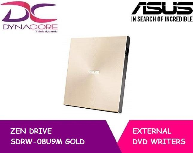 ASUS ZEN DRIVE SDRW-08U9M GOLD EXTERNAL WRITER