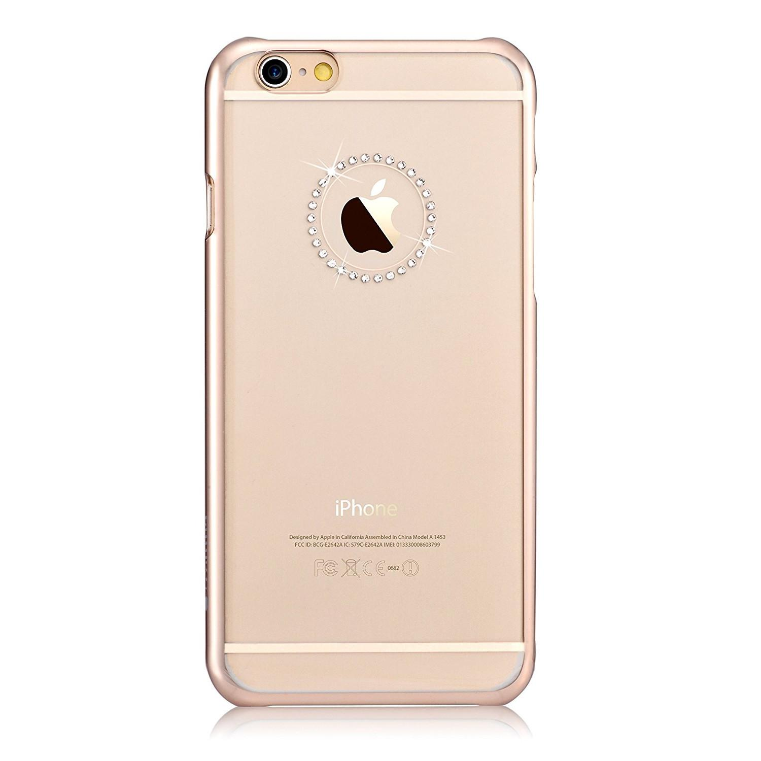 Compare Comma Crystal Jewelry Swarovski Element Case Iphone 6 Plus 6S Plus Gold