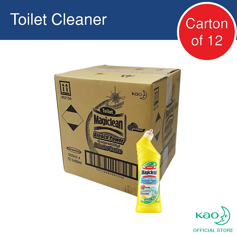 Compare Prices For Magiclean Toilet Bleach Power Lemon 500Ml Carton Of 12