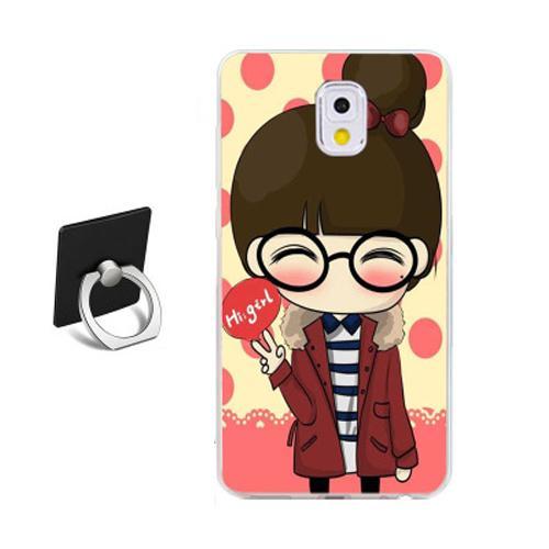 Phone Case For Samsung Galaxy Note 3 TPU Soft Cartoon Case (Multicolor)