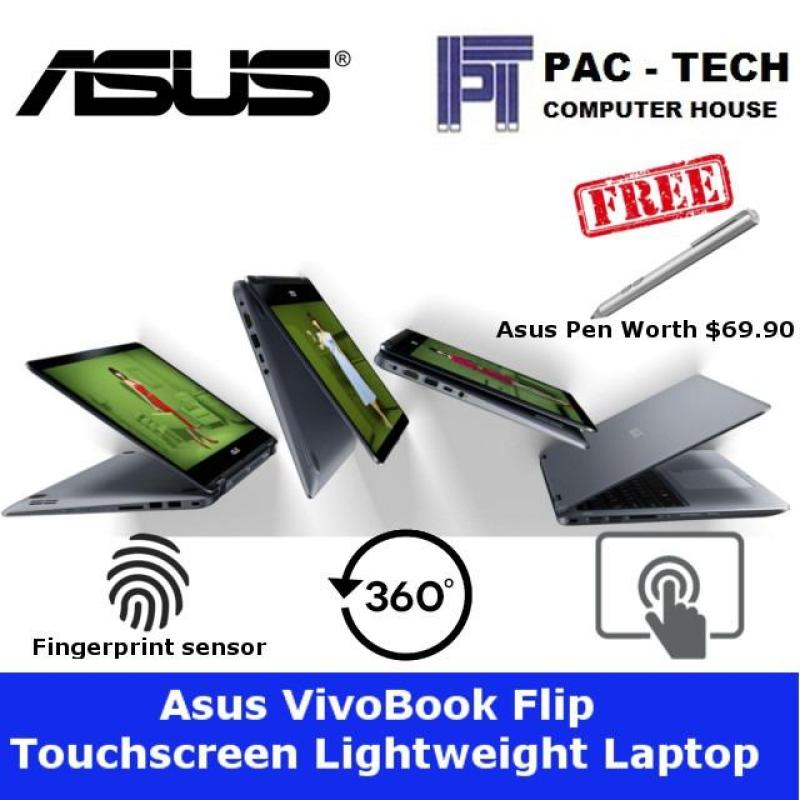 Asus VivoBook Flip 14 TP410UA-EC473T 2-In-1 Laptop/14 FHD TS/8th Generation Processor/8GB RAM/1TB HDD/Free Asus Pen Worth $69.90
