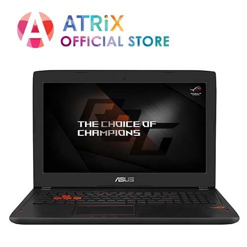 ASUS ROG Strix GL502VM-FY219T | Intel Core i7-7700HQ | 16GB DDR4 Ram | 128GB M.2 SSD + 1TB HDD | NVIDIA GeForce GTX1060 GDDR5 6GB | 15.6 FHD