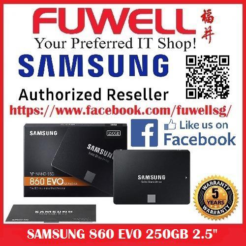 Samsung 860 Evo 250Gb 2 5 Inch Ssd For Sale