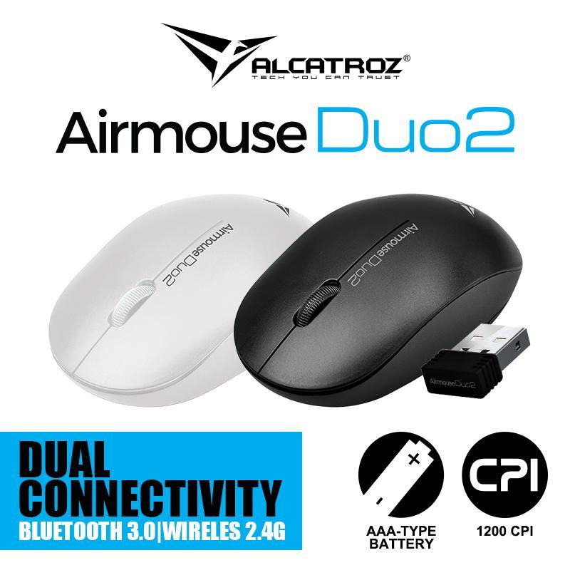 Alcatroz AirMouse Duo 2  Dual support (bluetooth + 2.4G )