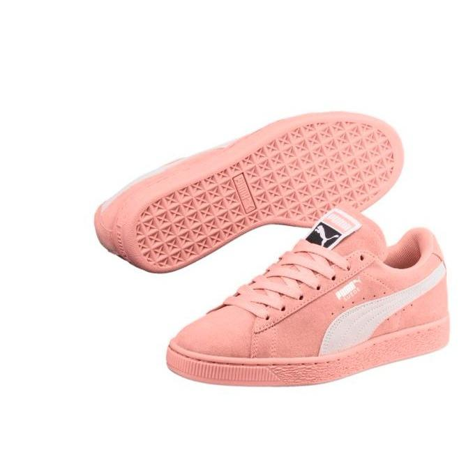 Top Rated Puma Suede Classic Women Sneakers Peach Beige Puma Whitepeach Beige Puma White