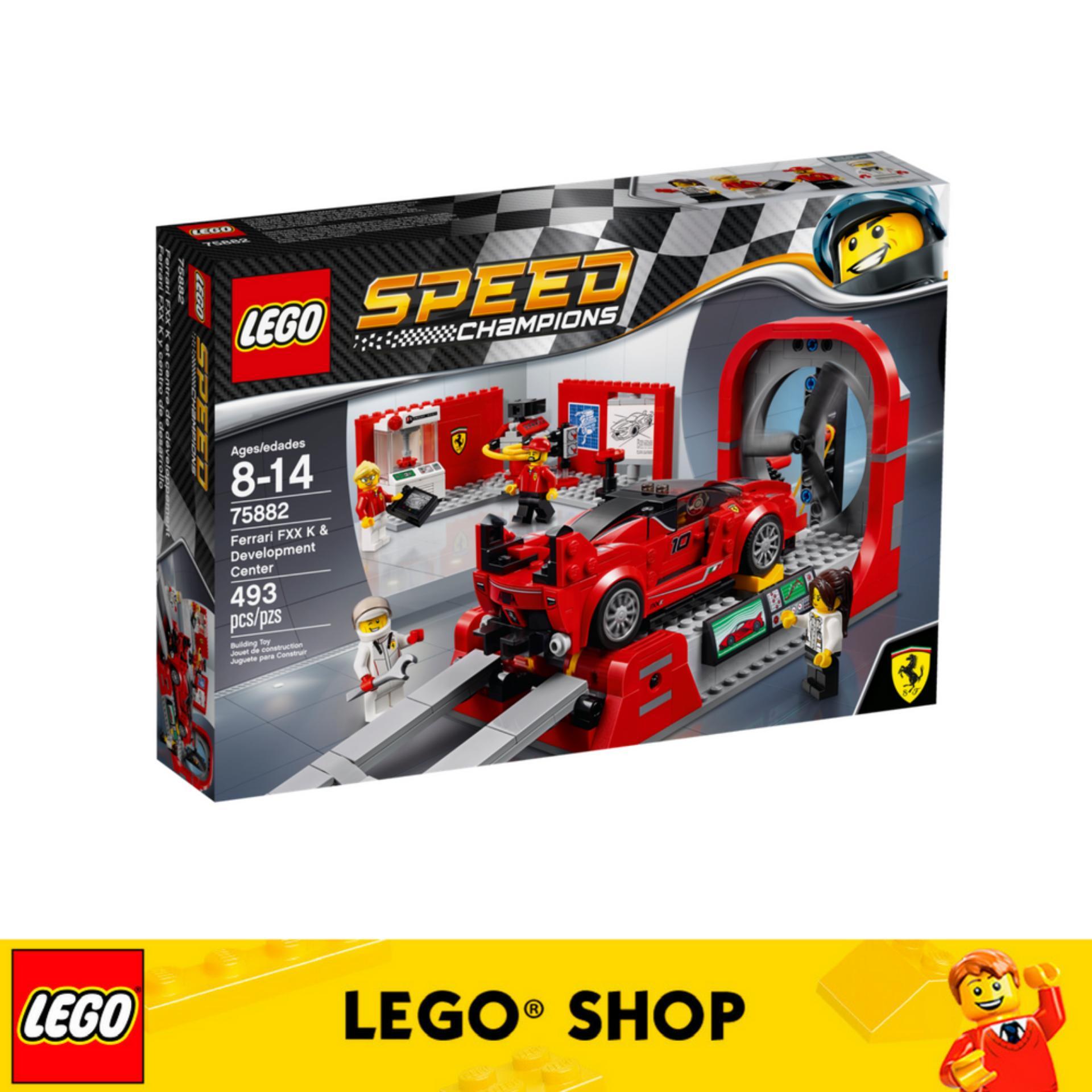 Who Sells Lego® Speed Champions Ferrari Fxx K Development Center 75882