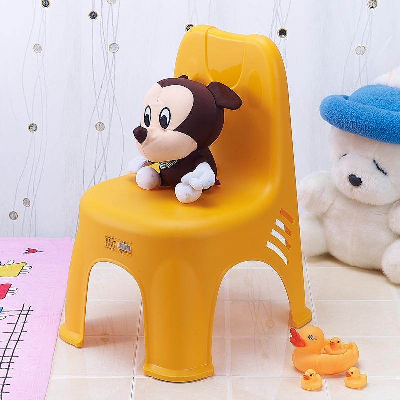 Baby plastic kindergarten thick non-slip small bench childrens chair
