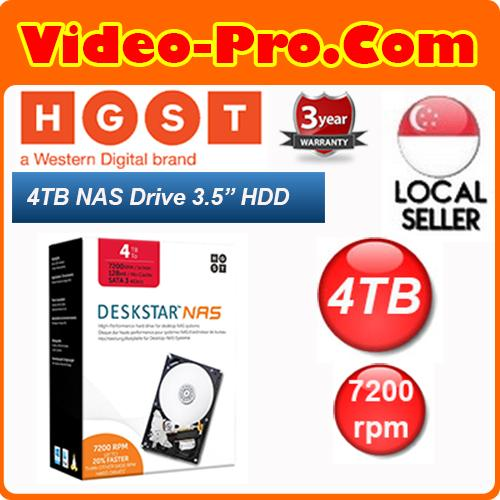 Who Sells Hgst Deskstar Nas 3 5Inch 4Tb 7200 Rpm 128Mb Cache Sata 6 0Gb S High Performance Hard Drive Retail Packaging 0S04005 Cheap
