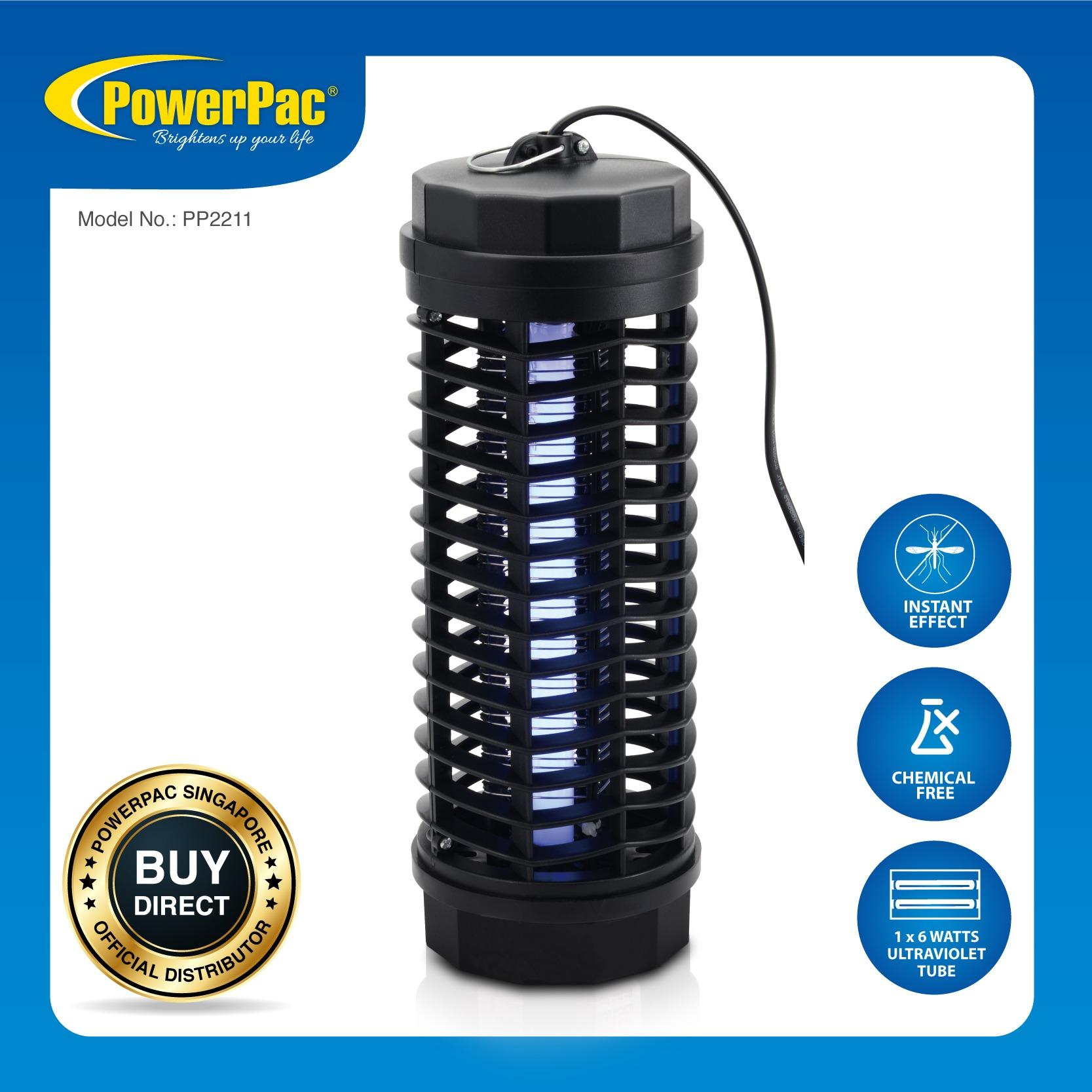 Where Can You Buy Powerpac Electronic Insect Killer Kills Insect And Mosquitoes Instantly Pp2211
