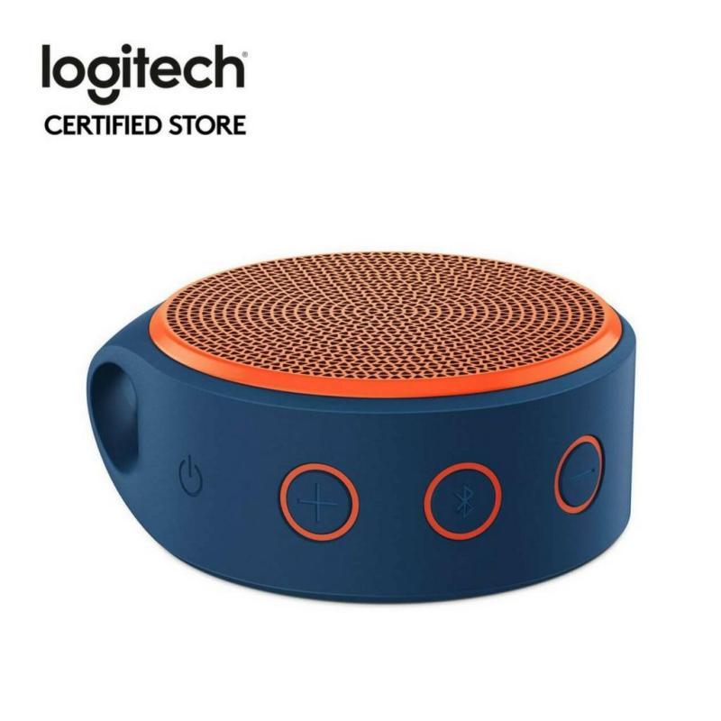 Logitech X100 Orange Wireless Bluetooth Speaker Singapore