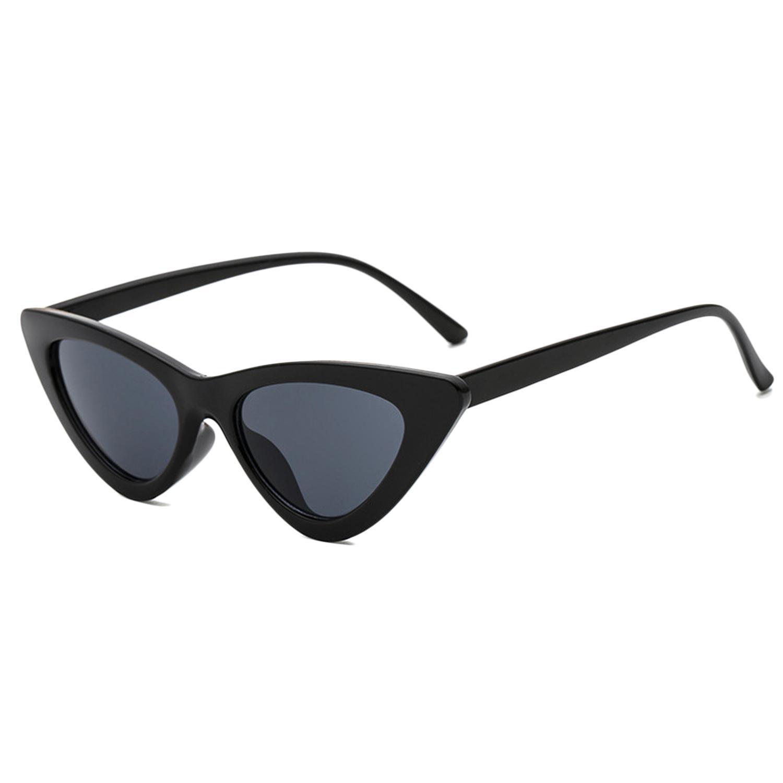 1211f917cd MINI DIXIU Fashion Plastic Frame Vintage Style Retro Cat Eye Sunglasses  Chic Clout Goggles for Girls