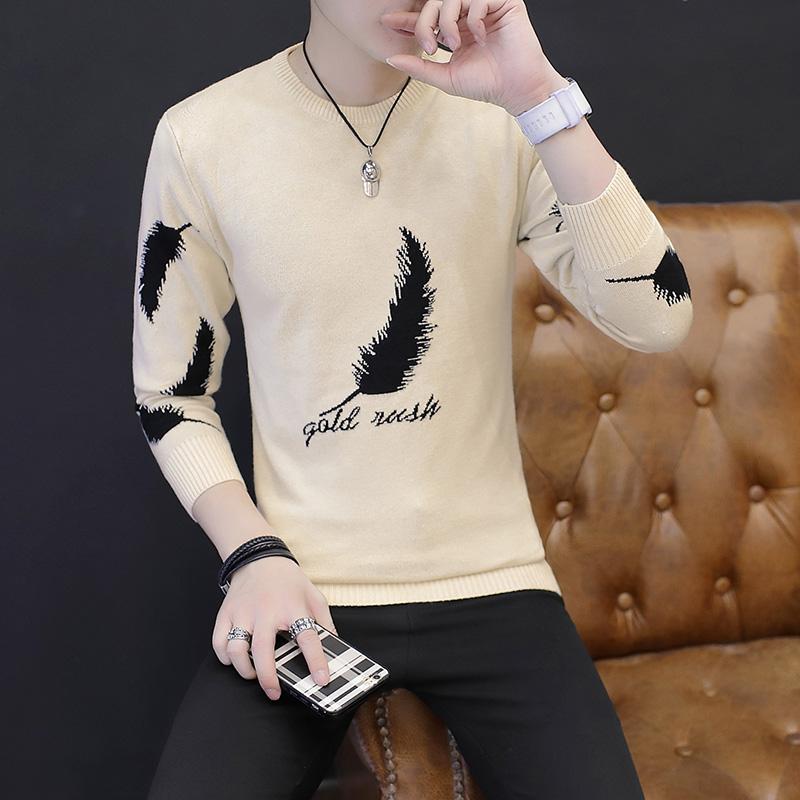 ... Korea Modis Gaya Musim Dingin Pria Baru Baju Dalaman Sweater On (M3038 ( Hitam)