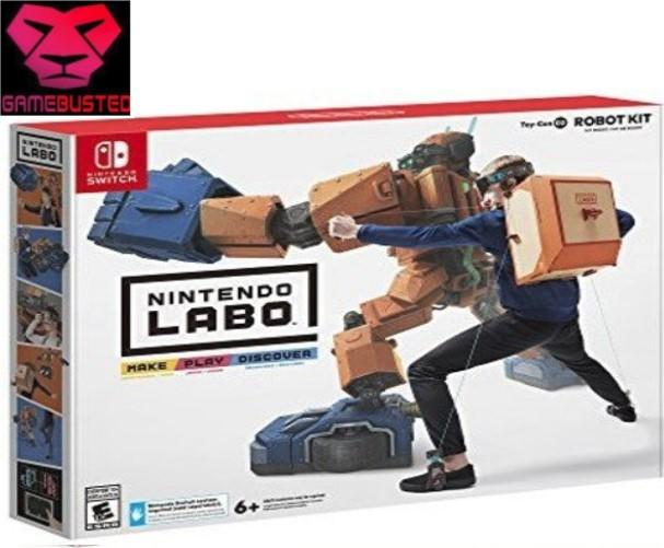 Great Deal Nintendo Switch Labo Robot Kit 02
