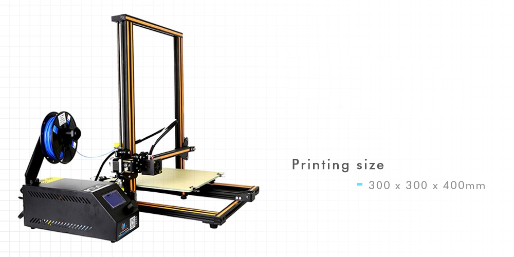 Creality3D CR - 10S 3D (Upgraded Version)Large Size ...