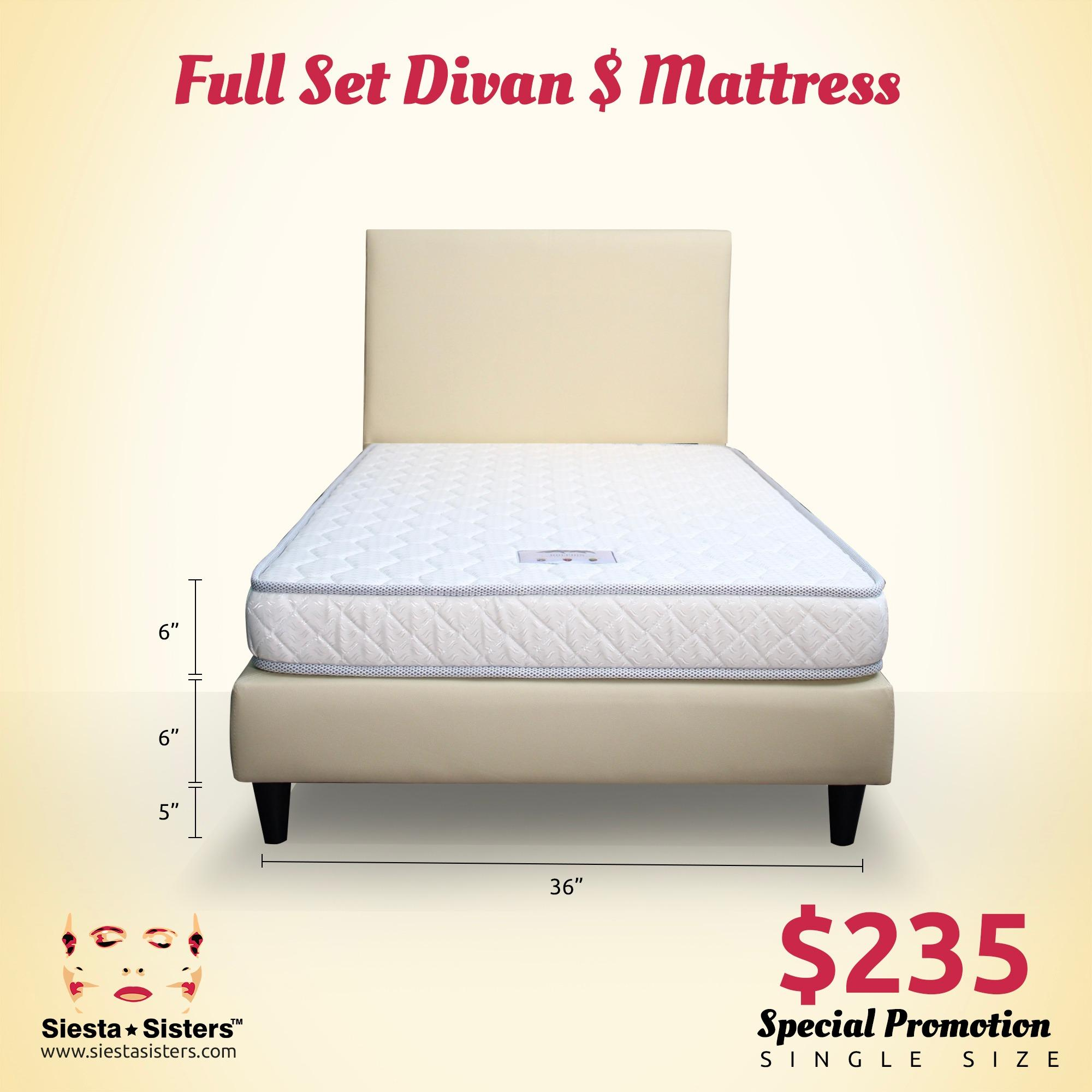 Compare Prices For 6 Inches Foam Mattress With Divan Bed Frame