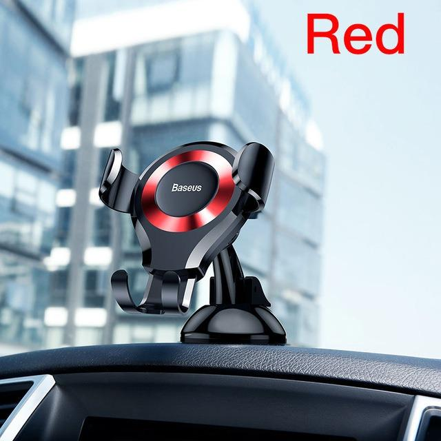 Price Baseus High Quality Gravity Type Car Mount Smartphone Holder Online Singapore