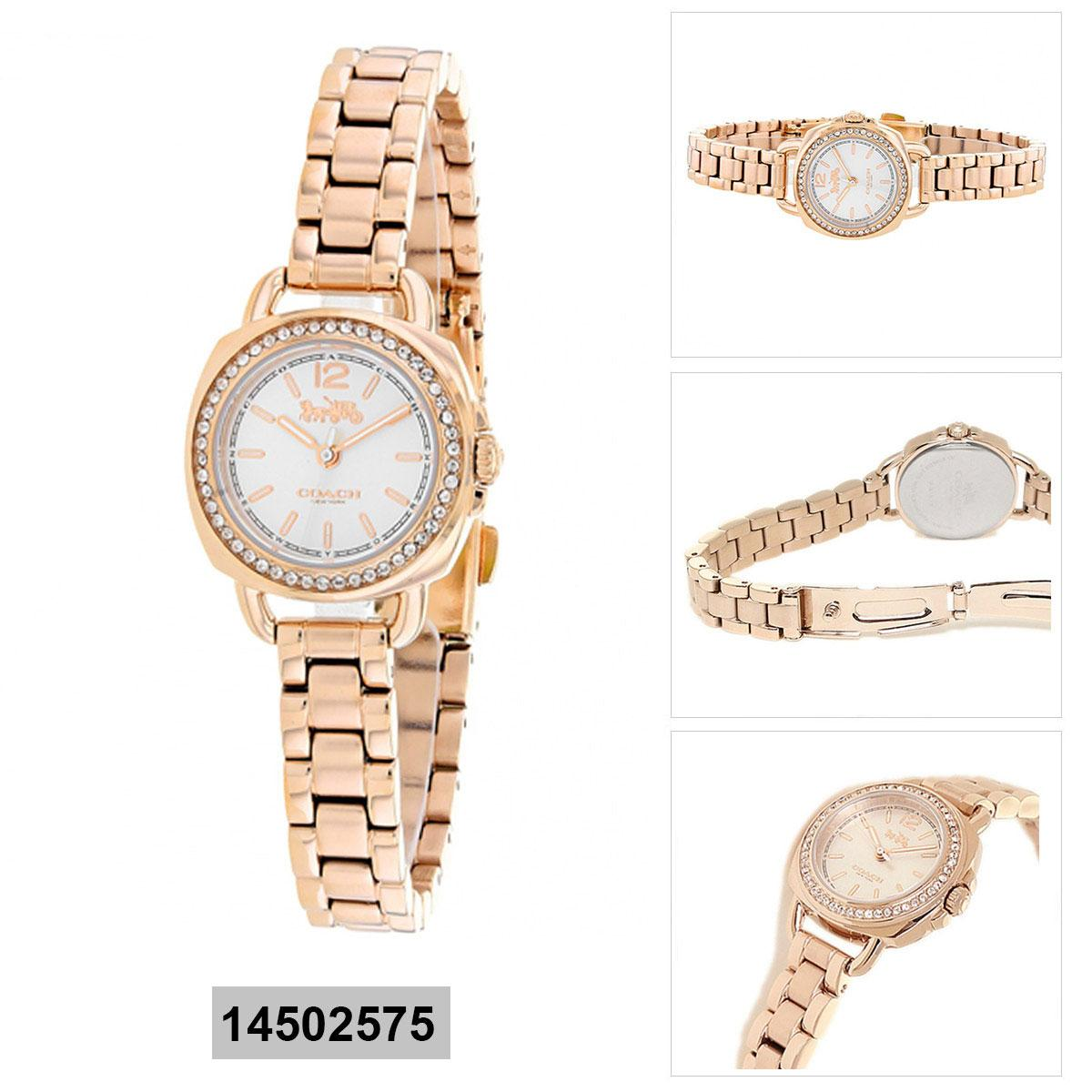 Coach Coach Tatum Rose Gold Stainless-Steel Case Stainless-Steel Bracelet Ladies 14502575 Malaysia