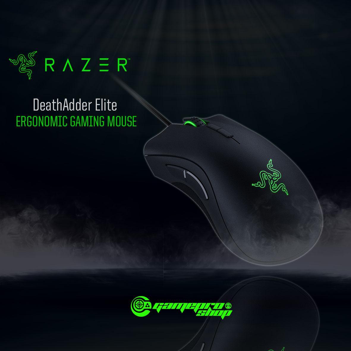 Store Razer Deathadder Elite Ergonomic Gaming Mouse Gss Promo Razer On Singapore