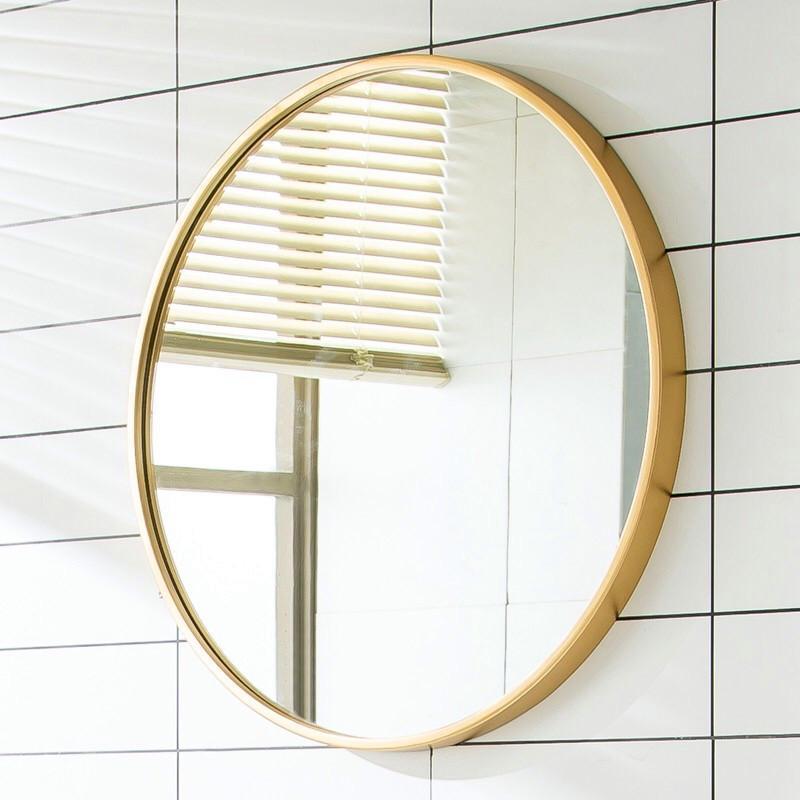 Gold Bathroom Wall Mirror New Modern Colors Home Decor Household
