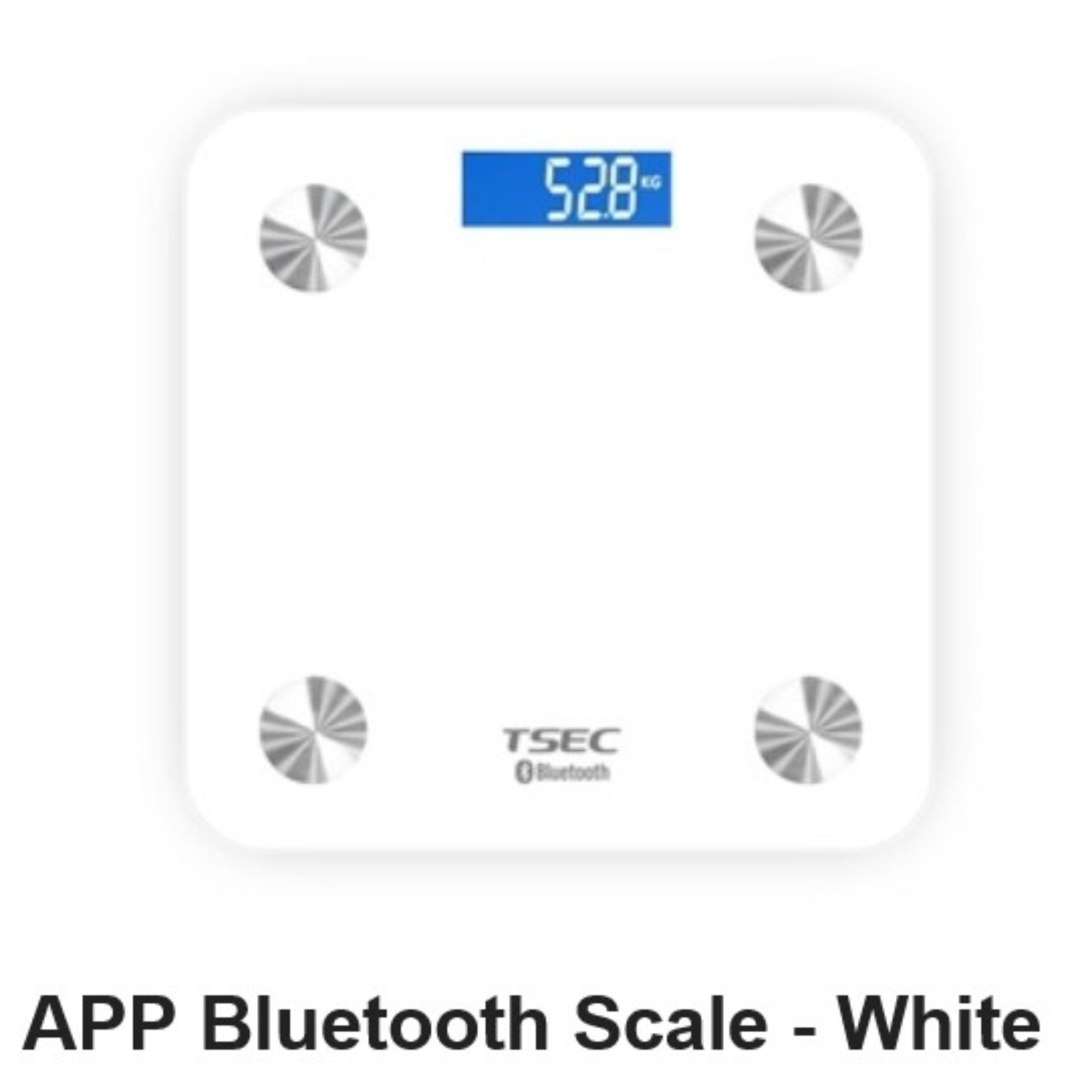 Discount App Bluetooth Weighing Scale White Singapore