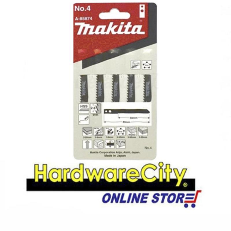 Makita Jigsaw Blade (M TYPE) No.4 - 5PPP A85874 [No.4]