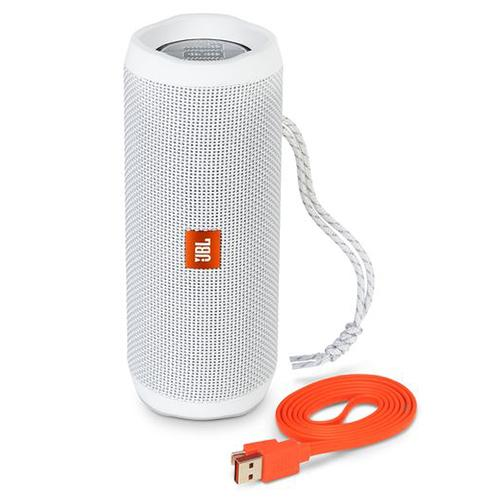 Jbl Flip 4 1 Year Warranty Waterproof Bluetooth Speaker White On Line