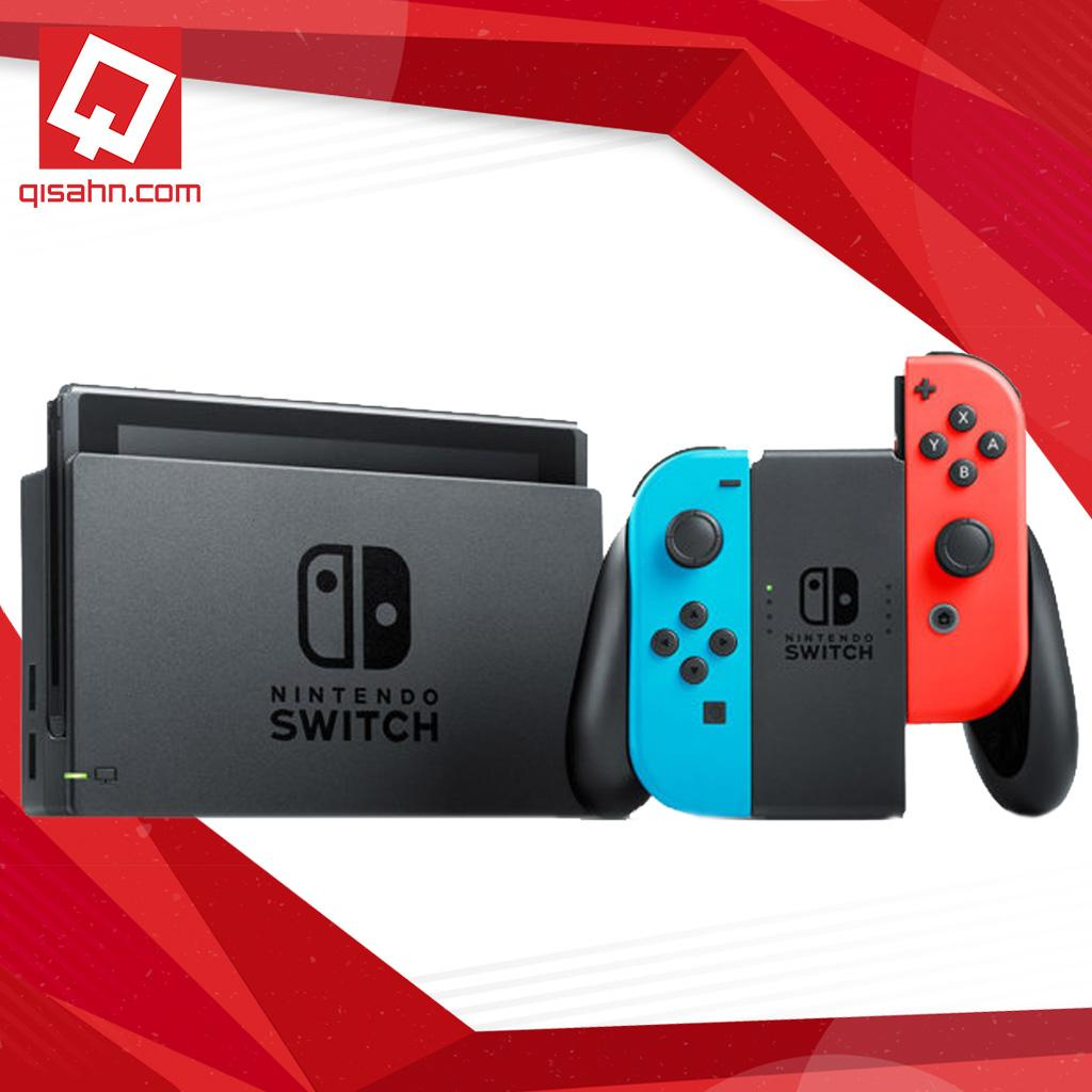(Local Set) Nintendo Switch Console System (Neon Red/Neon Blue)