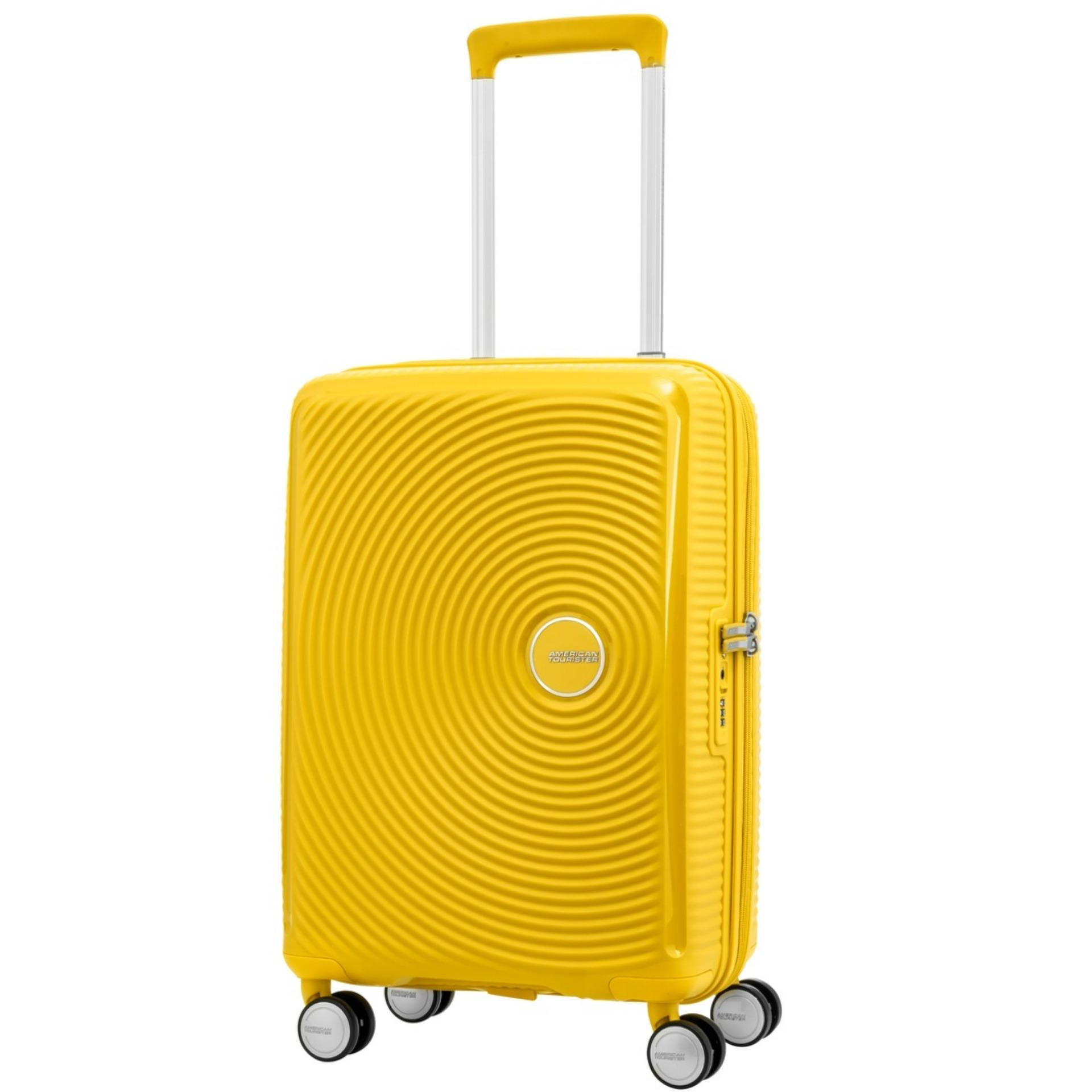 Price American Tourister Curio Spinner 55 20 Tsa Golden Yellow American Tourister Online