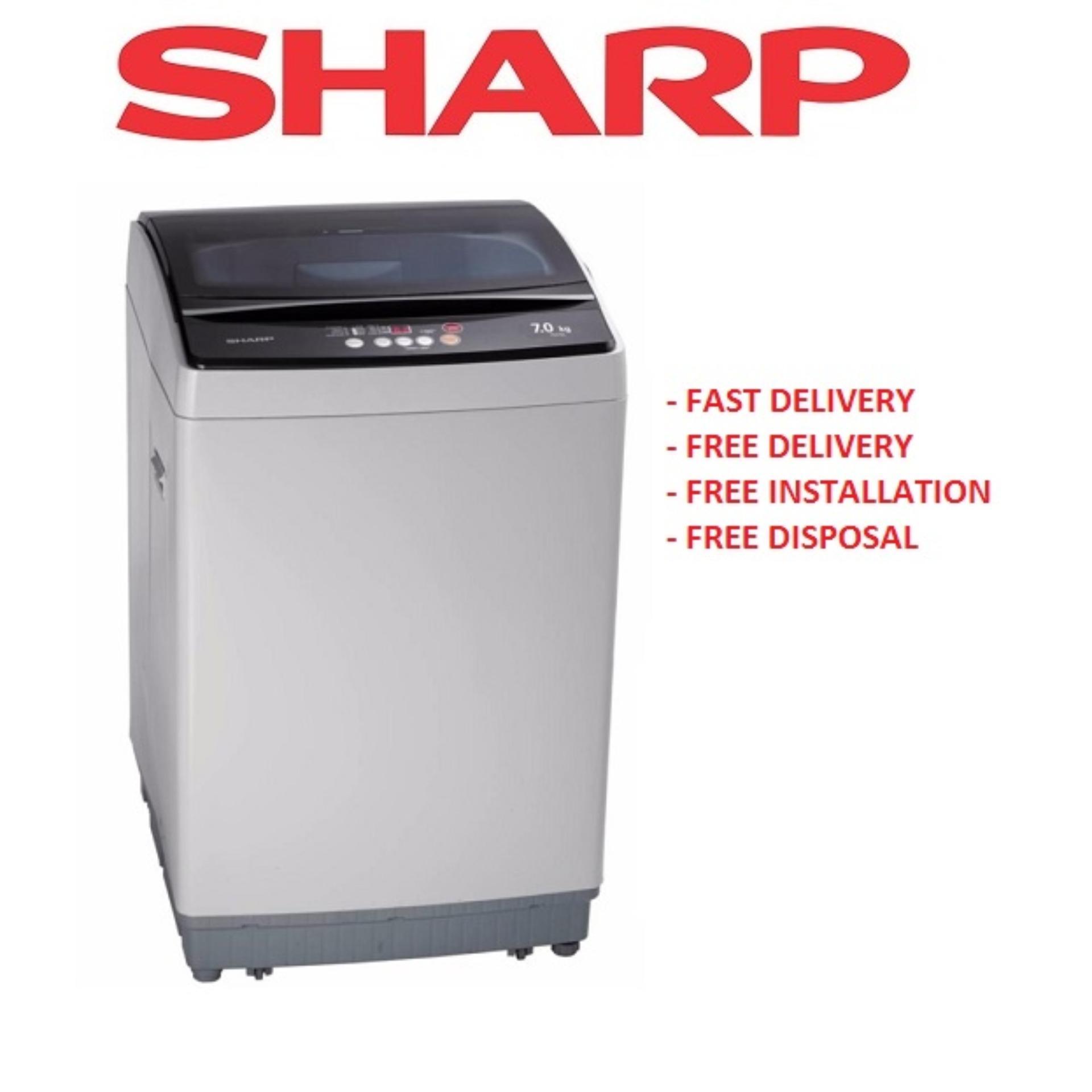 Sale Sharp Esx705 7Kg Top Load Washing Machine Online Singapore