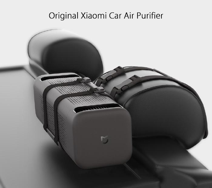 Original Xiaomi Double Fans Car Air Cleaner
