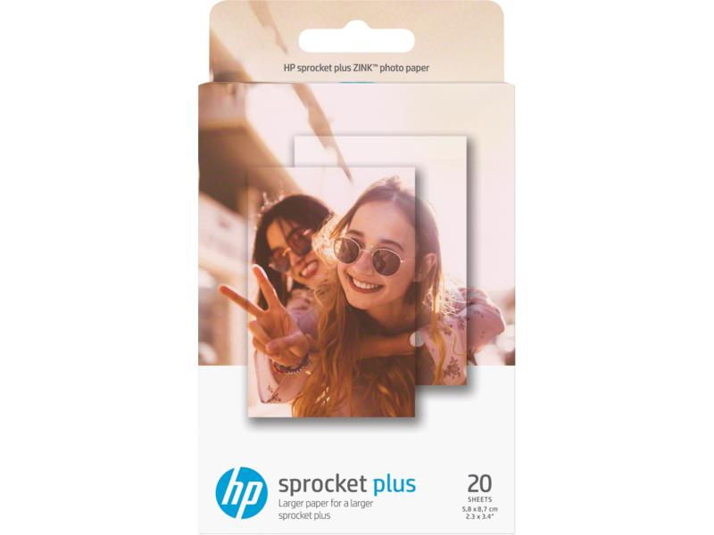 Buying Hp Sprocket Plus Photo Paper 20 Sticky Backed Sheets 2 3 X 3 4 In