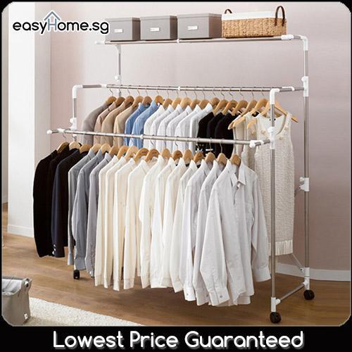 Sale Korean Clothes Rack Br703 Singapore