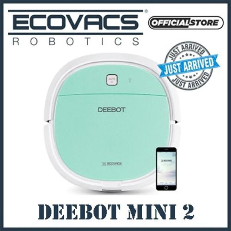 ECOVACS DEEBOT MINI 2 ROBOT VACUUM CLEANER WITH APP CONTROL FUNCTION Singapore