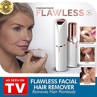 Flawless Facial Painless Hair Remover Lipstick Personal Shaver (as Seen On Tv!) By The Bro Store