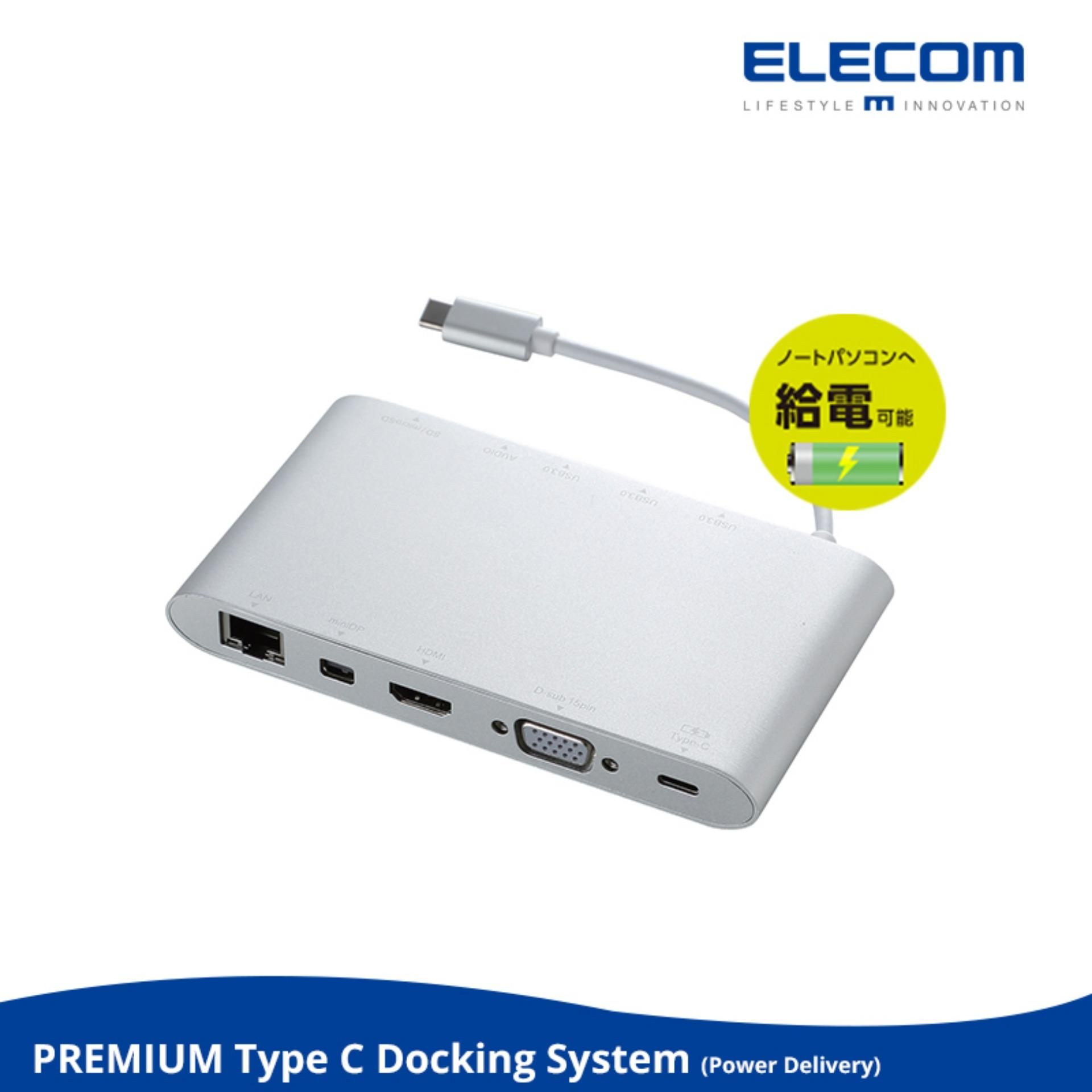Macbook Docking Station Power Delivery Type C To Usb Hdmi Vga Display Port Microsd Price Comparison