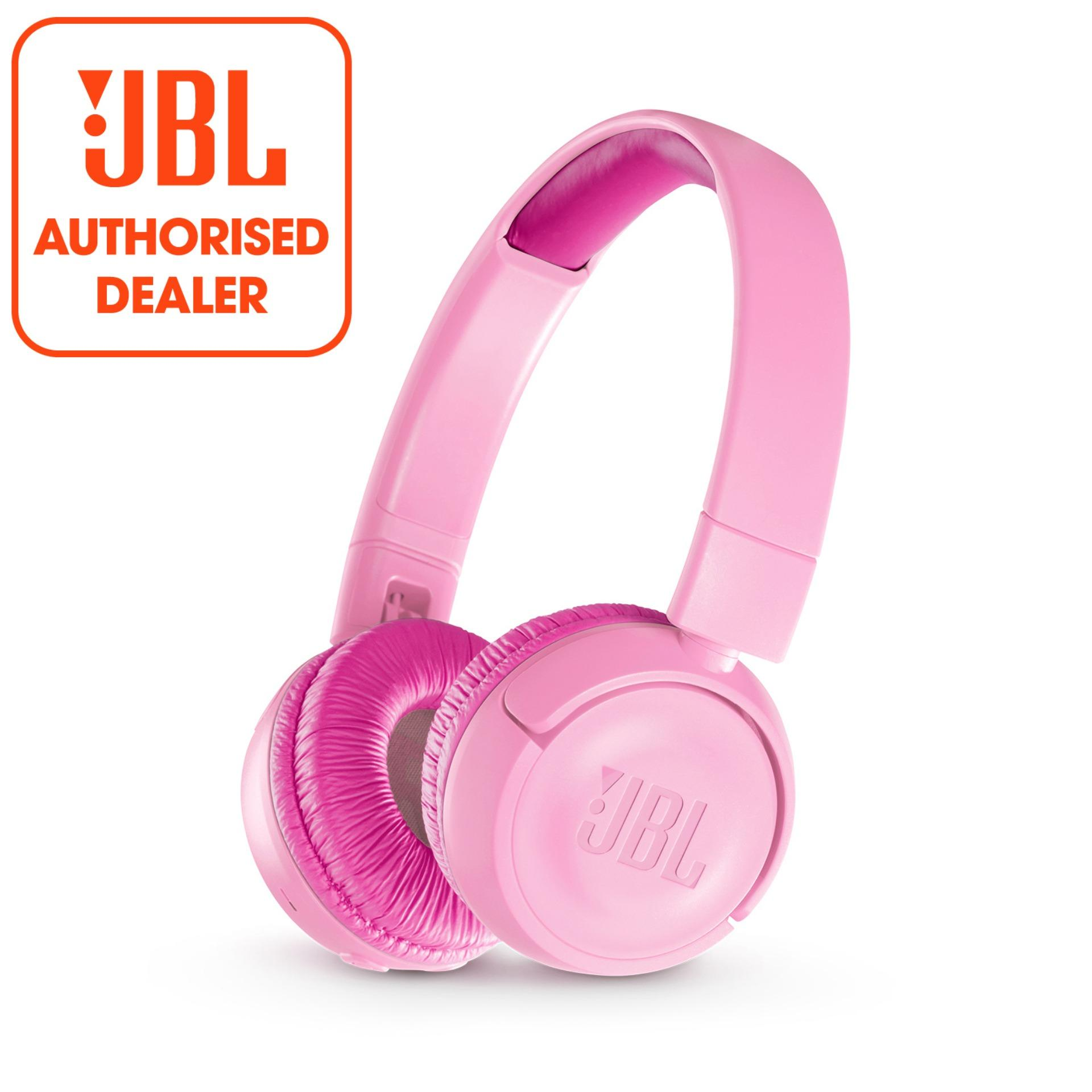 Buy Jbl Jr300Bt Pink Kids Wireless On Ear Headphones With Safe Sound Cheap Singapore